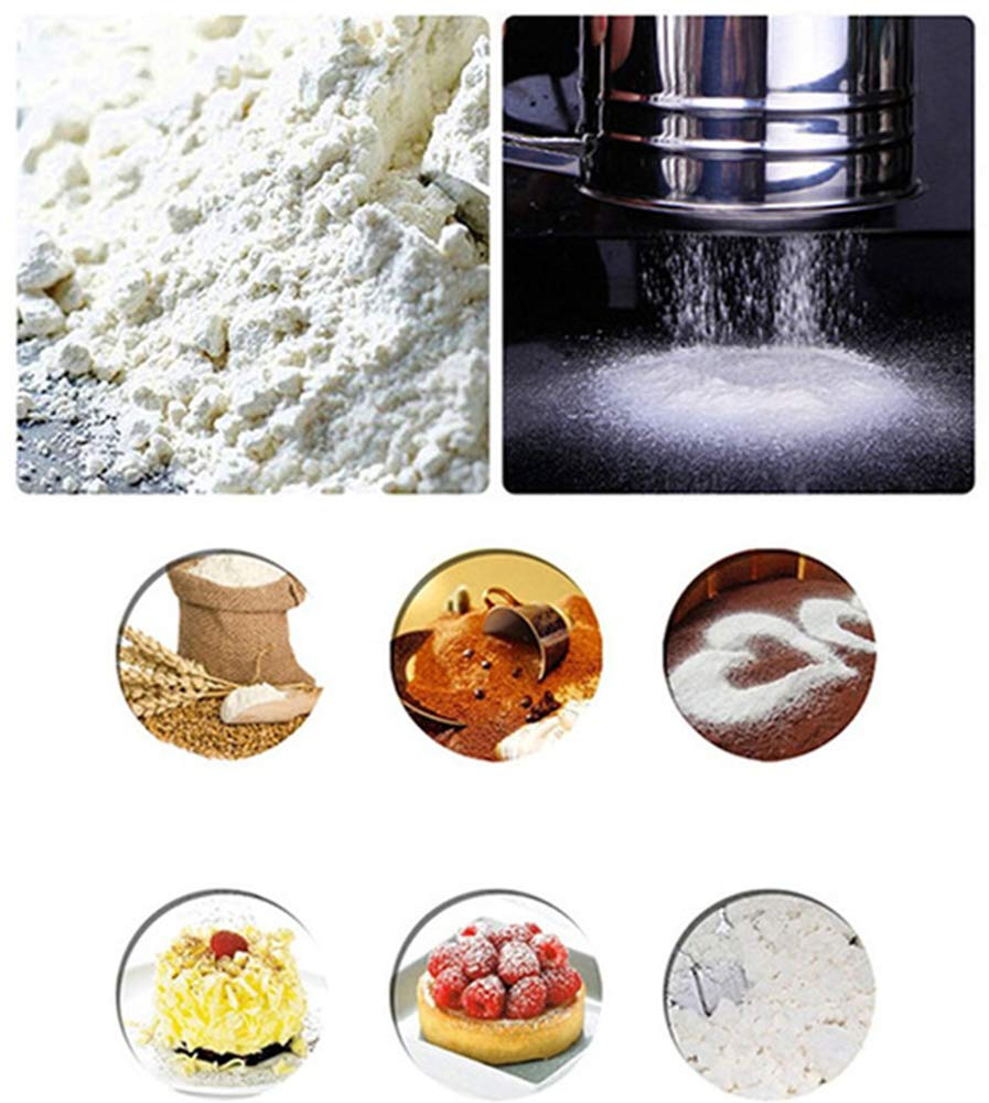 Sifter Cake Powder Mixing Flour Sieve Semi Automatic
