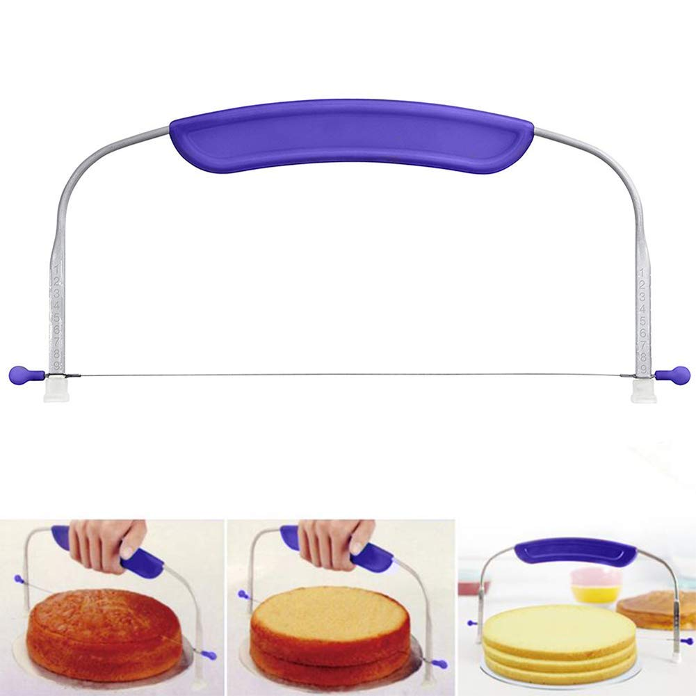 Adjustable Cake Leveler Cake Layer Cutter Pizza Dough Slicers Cake Decoration Tool