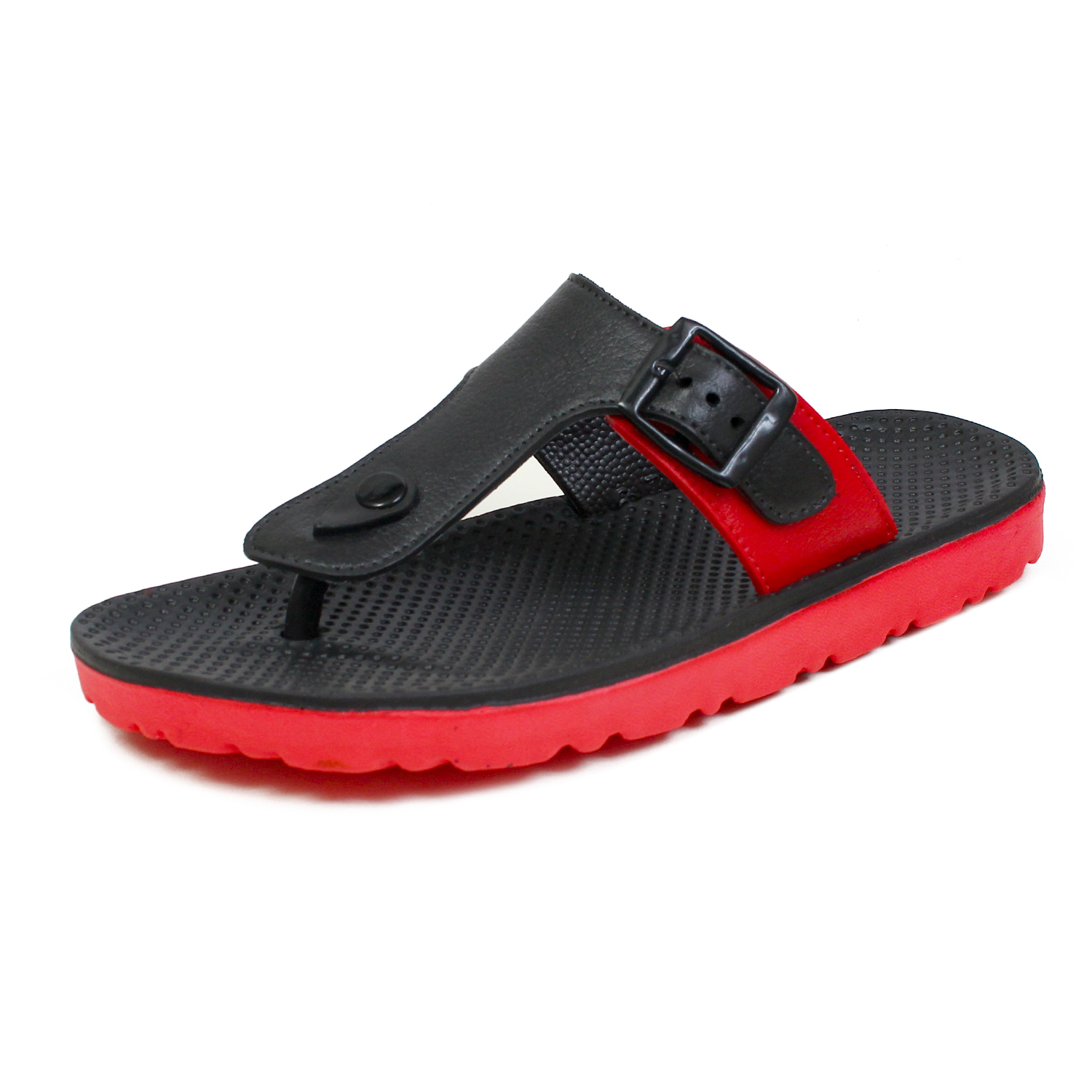 Foot Trends Stylish Casual Slipper For Men Tiger Red TigerRd6-9 (Size, 6-9, 4 PAIR)