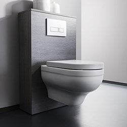 Merveilleux Parryware Wall Mounted Commode