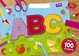 My First ABC Colouring Activity Book
