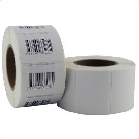50X50mm BARCODE STICKERS(2000 STICKERS) | Permanent Adhesive Paper Label