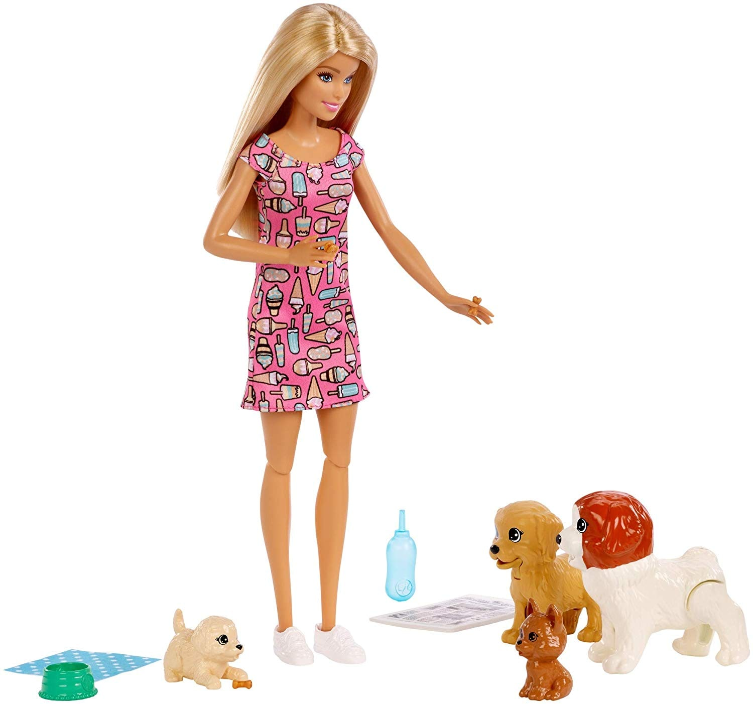 BARBIE DOLL & PETS - DOGGY DAYCARE PLAYSET - FXH07 / FXH08