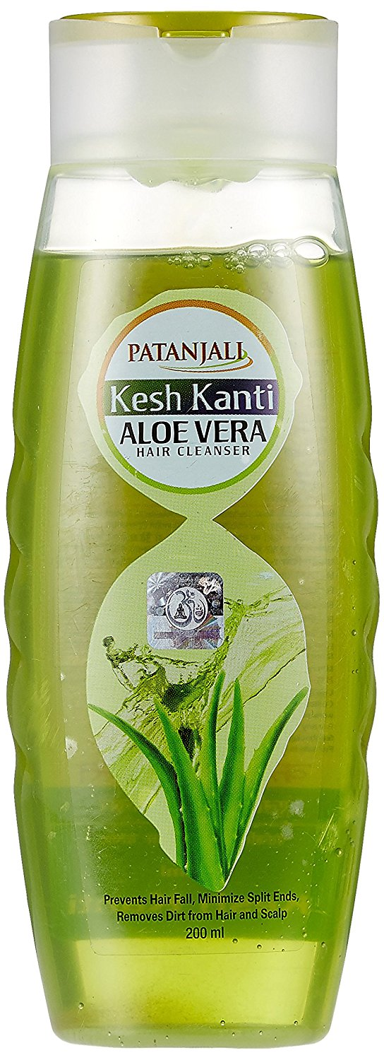 Patanjali Kesh Kanti Aloe Vera Hair Cleanser 200 Ml