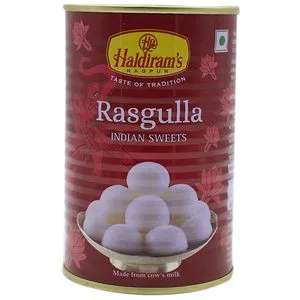 Haldirams Rasgulla, 500 G Tin