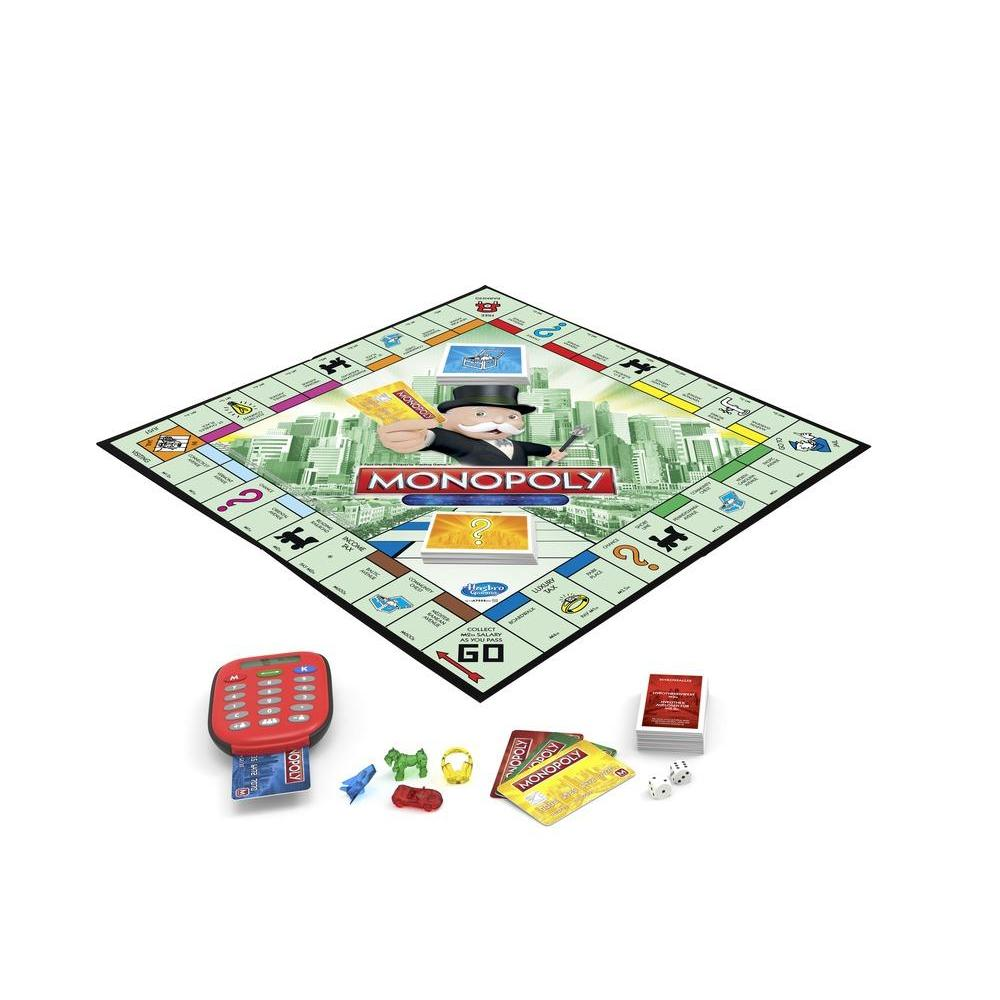 Monopoly Electronic Banking Board Game A74442840