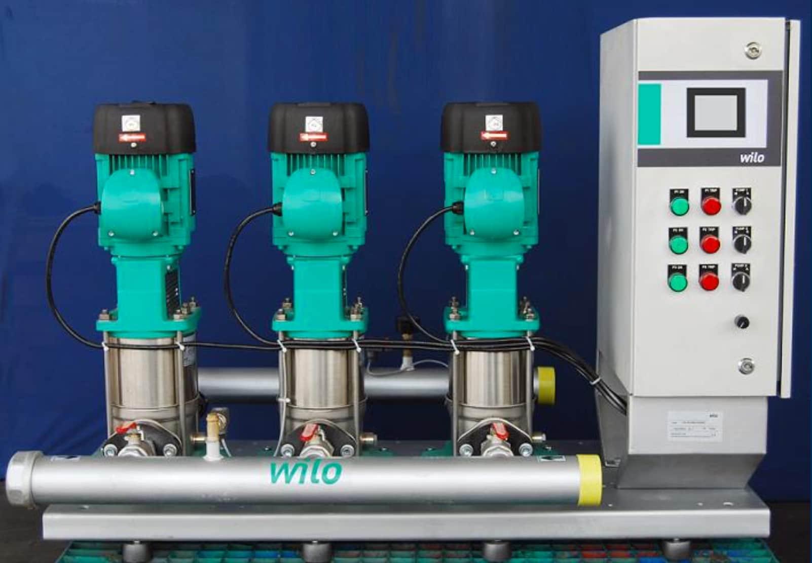 Hydro Pneumatic Pressure Boosting System, Wilo Mather & Platt