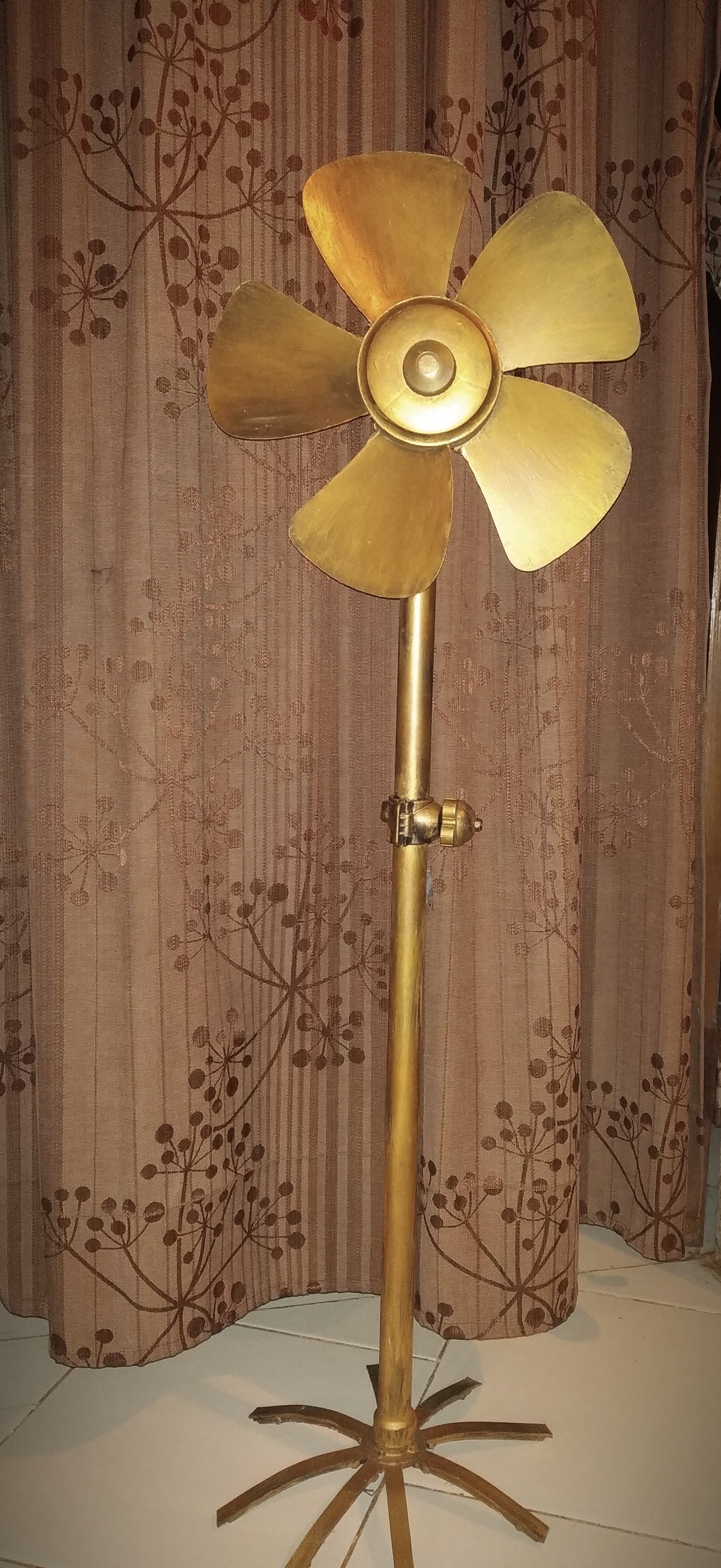 Upcycled Vintage Fan