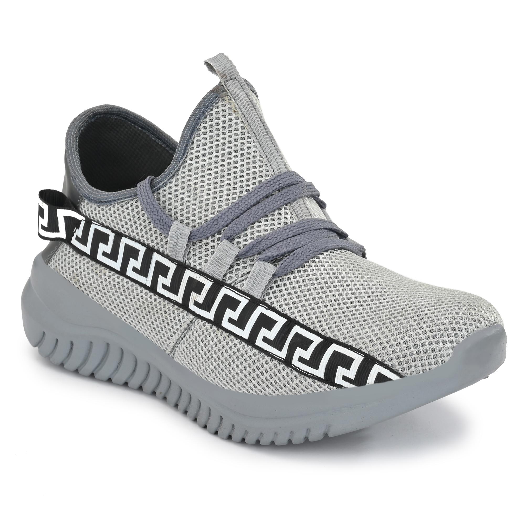 Almighty Gray Air Series Mesh Casual Shoes MNGR01 (Gray, 6-10, 8 PAIRS)