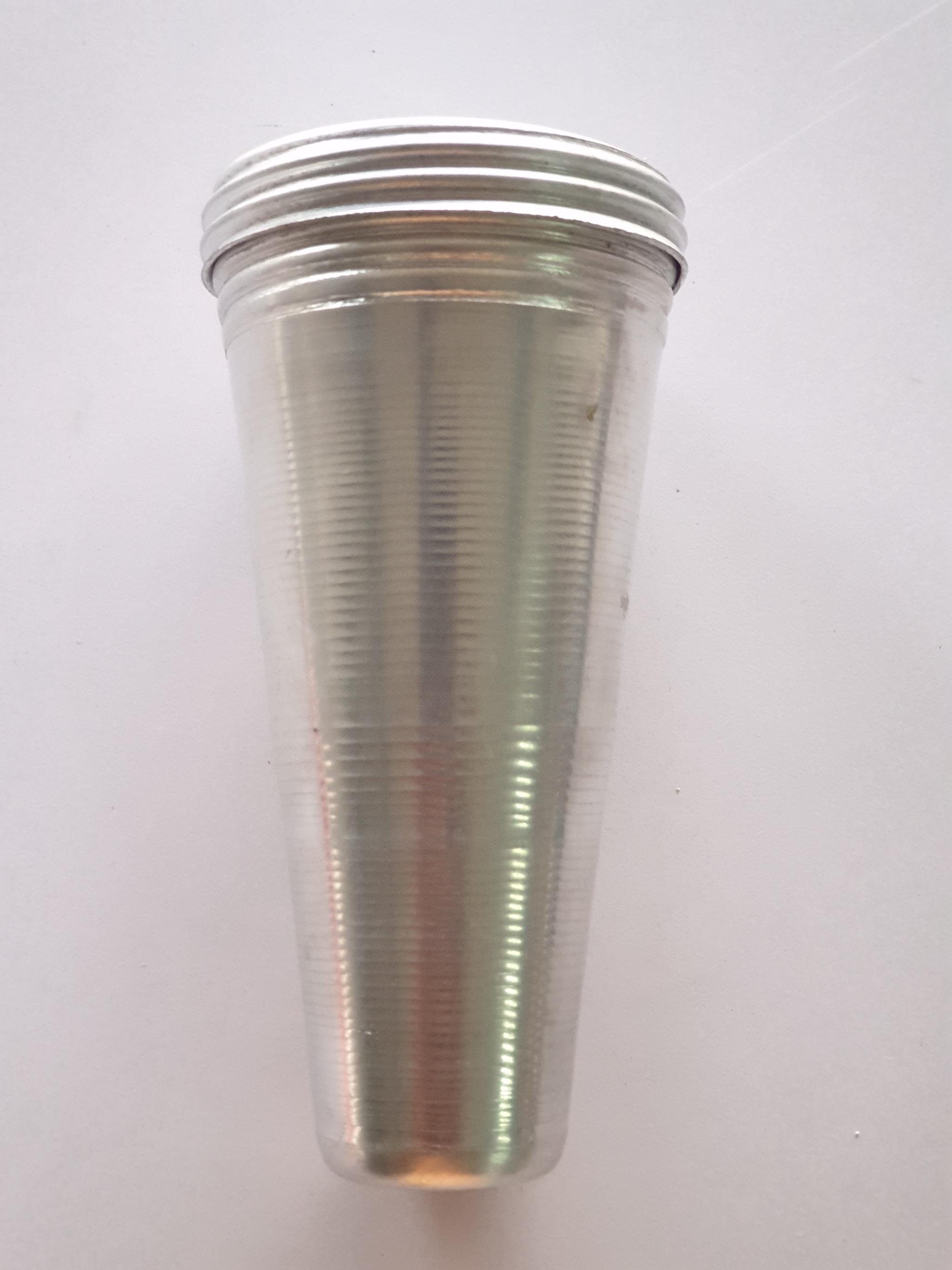Kulfi Mould Aluminium No3