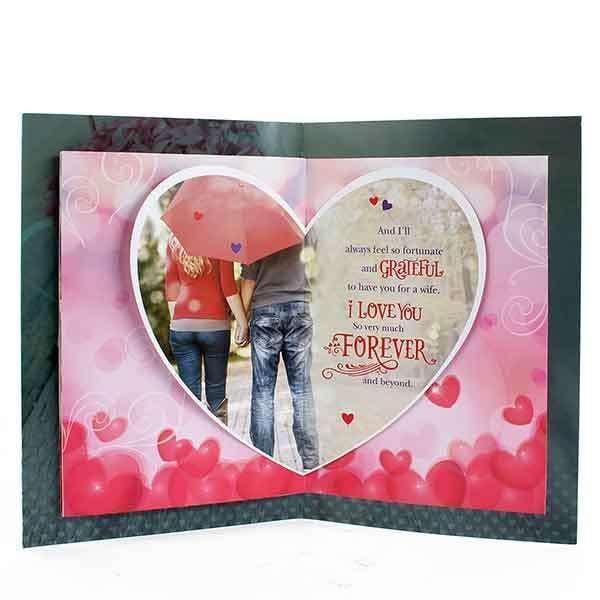 Romantic Card For Husband [ VHD 01526 ]