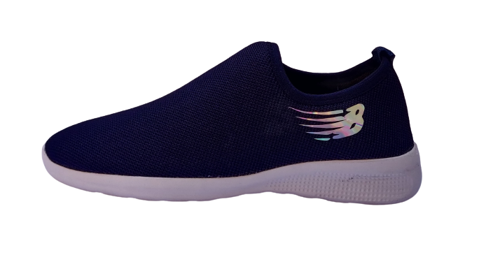 BLUE POP COMFORTABLE AND QUALITY SPORTS SHOES WHICH ARE RELIABLE FOR DAILY USES Navysocks (BLUE, 6-10, 8 PAIR)