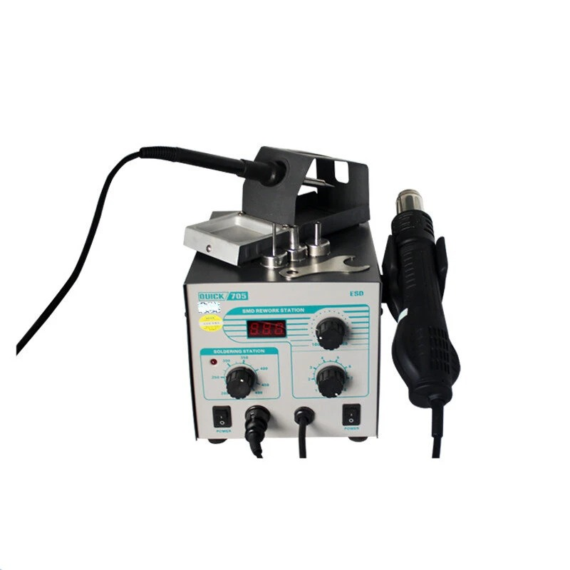 New Quick 705 2 In 1 700W Digital Automatic SMD Rework Soldering Station