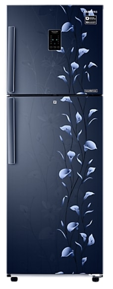 Samsung RT37K3993UZ/HL Frost Free Double Door Refrigerator (340 Litre, 3 Star, Tender Lily Blue)