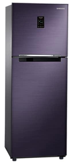 Samsung RT28K3722UT/HL Frost Free Double Door Refrigerator (253 Litre, 2 Star, Pebble Blue)