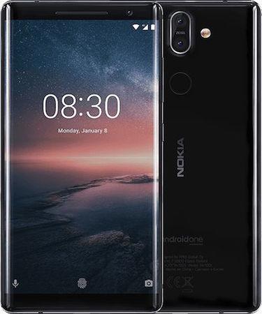 Nokia 8 Sirocco (RAM 6 GB, 128 GB, Black)
