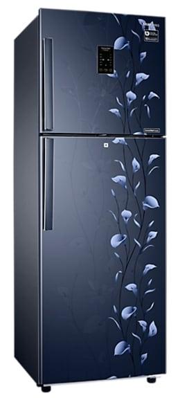 Samsung RT28K3924UZ/HL Frost Free Double Door Refrigerator (253 Litre, 4 Star, Tender Lily Blue)