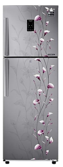 Samsung RT37K3993SZ/HL Frost Free Double Door Refrigerator (340 Litre, 3 Star, Tender Lily Silver)