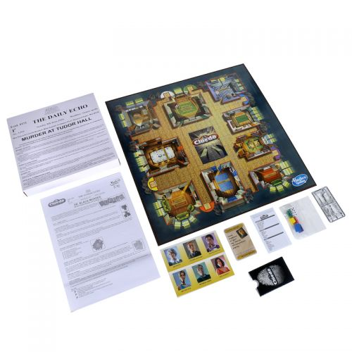 CLUEDO THE CLASSIC DETECTIVE BOARD GAME E8261