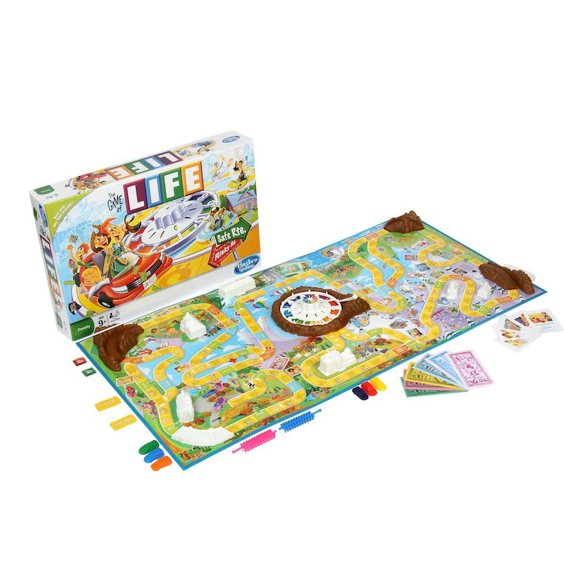 THE GAME OF LIFE BOARD GAME BY HASBRO GAMING E8268