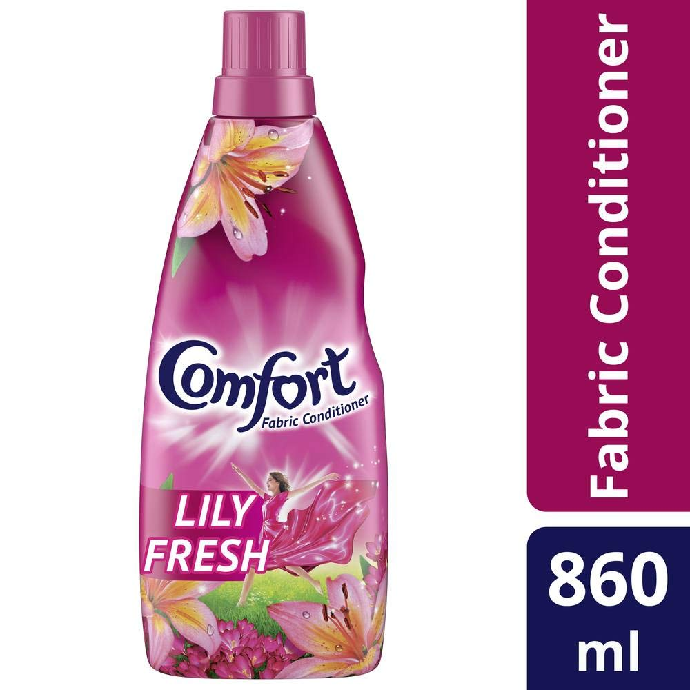Comfort After Wash Lily Fresh Fabric Conditioner (860 ltr)