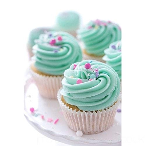 Muffin Baking Paper Cups Cupcake Liners 100 PCs - Divena In (Medium)