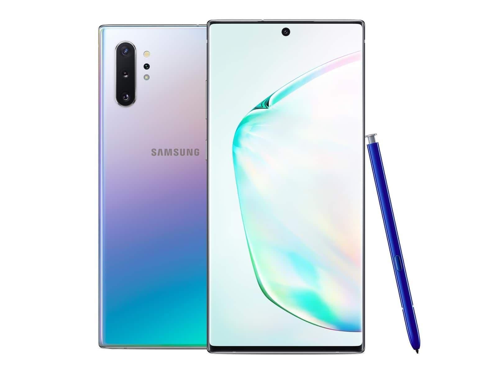 Samsung Galaxy Note 10+ (RAM 12 GB, 256 GB, Aura Glow)