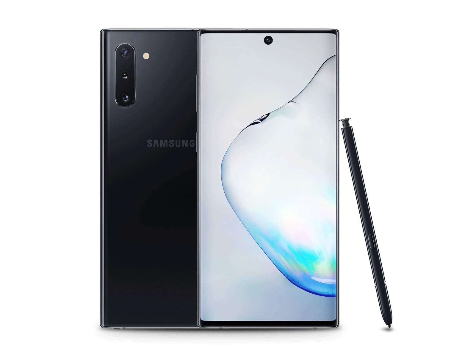 Samsung Galaxy Note 10 (RAM 8 GB, 256 GB, Aura Black)