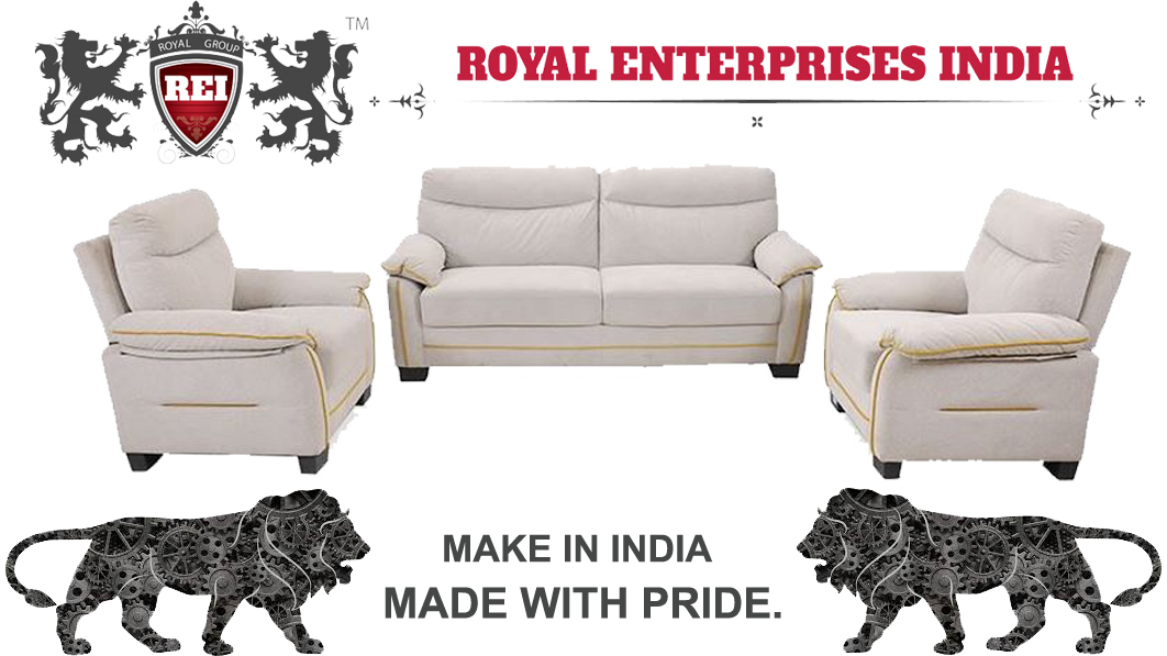Royal Hanna 3+1+1 5 Seater Sofa