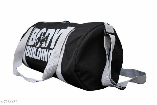 Checkout This Hot & Latest Bags & Backpacks Sports Body Building Gym Duffle Bag For Men|Women (Black)