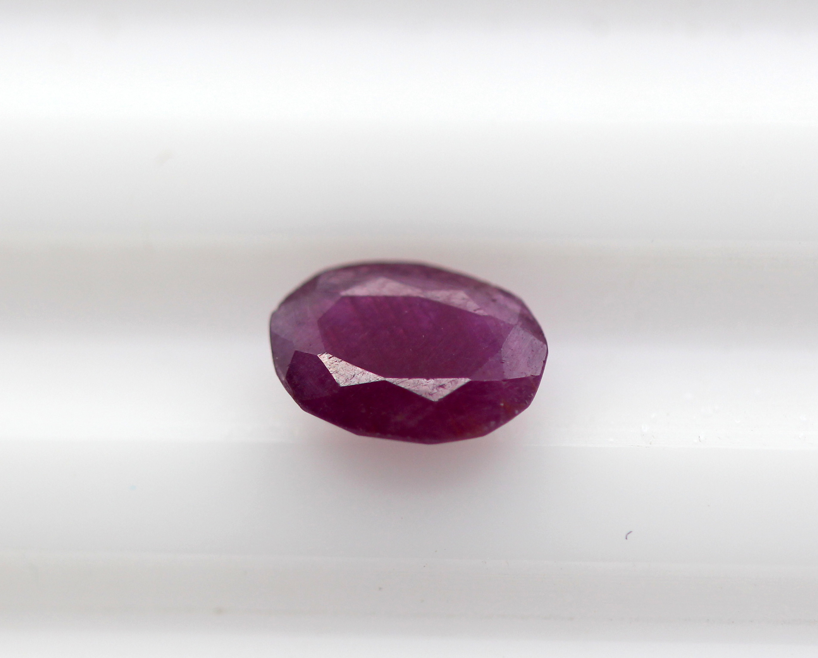 0.90 Ct Ruby African Oval Cut Natural Gemstone Certified