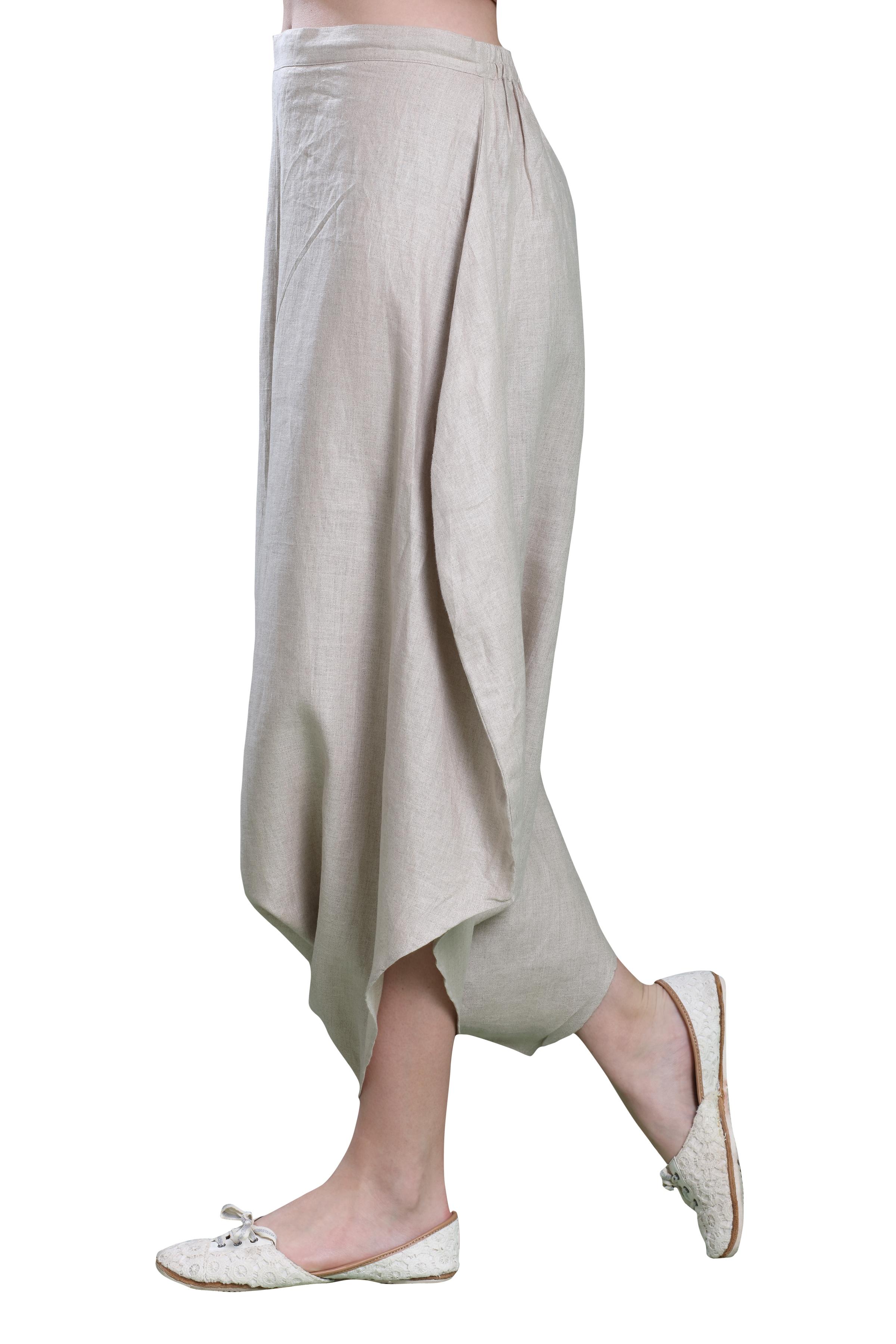 Natural Harem Pants S (M)