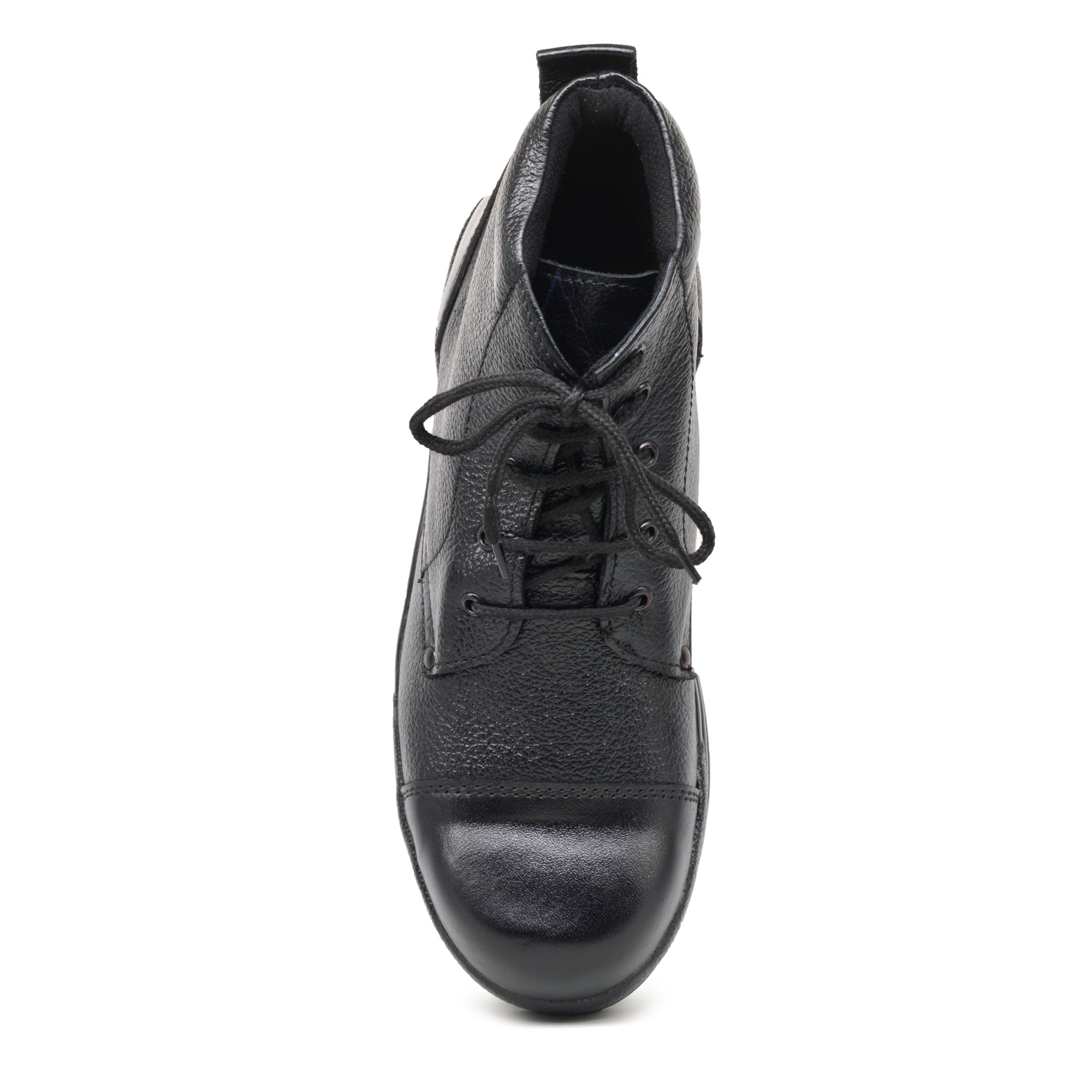 IMCOLUS232.320_BLACK HIGH QUALITY LEATHER LONG SAFETY SHOES IMCOLUS232.320_BLACK (BLACK, 5-8, 4 PAIR)