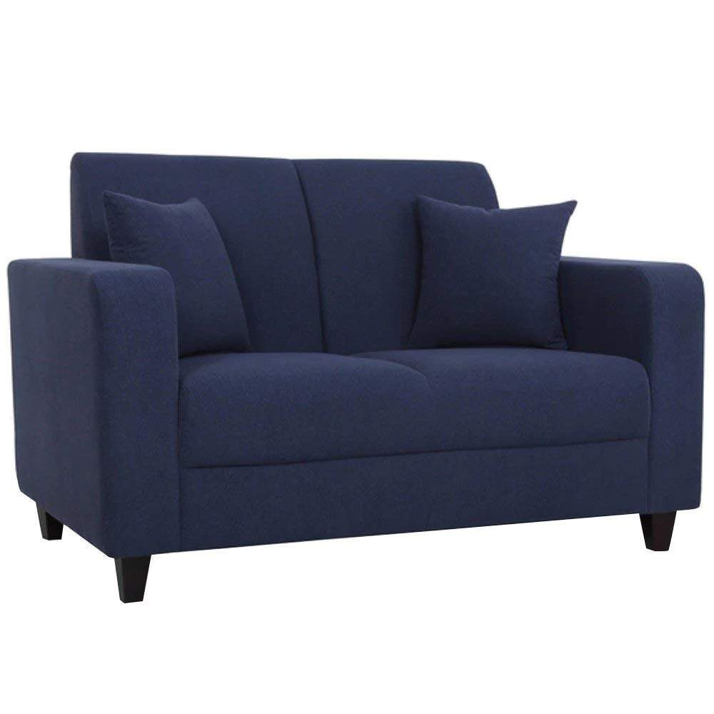 Texas Two Seater Sofa (Blue)