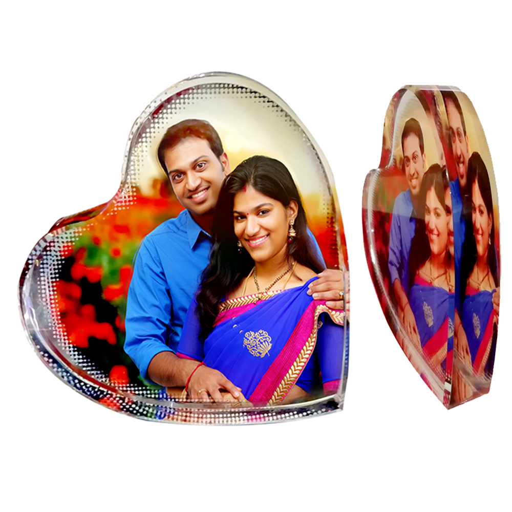 Personalized Color Photo Crystals