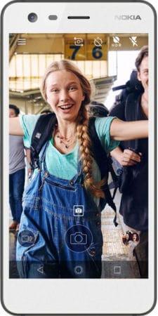 Nokia 2 (8 GB, Pewter & White)