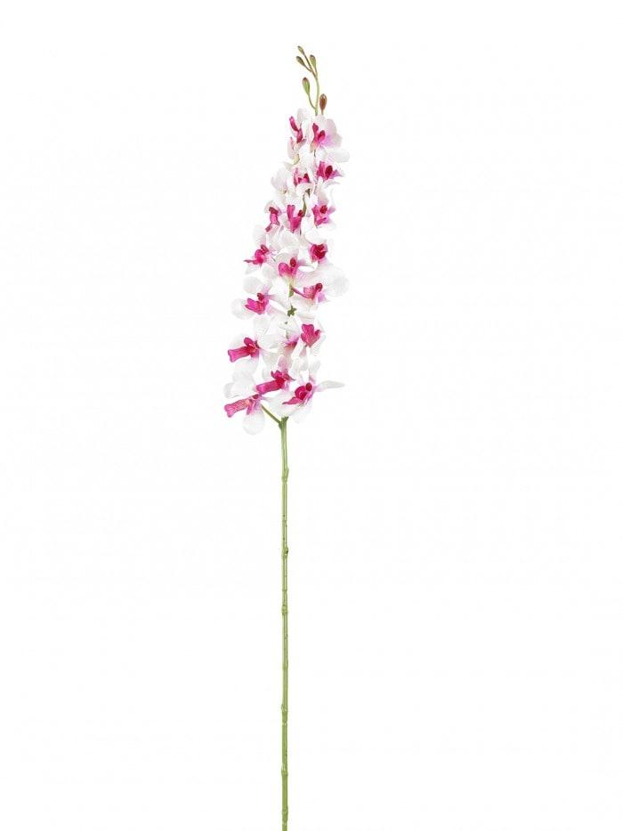 ARTIFICIAL MOKARA ORCHID FLOWER STEMS (95 CM TALL, SET OF 3, LIGHT/PURPLE) MSF42