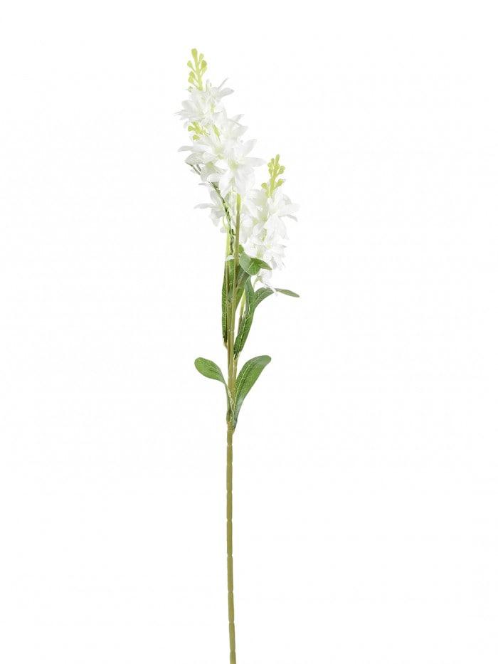 DECORATIVE ARTIFICIAL VLOLET FLOWER (SET OF 4, 3 HEAD, DARK BLUE) MSF26