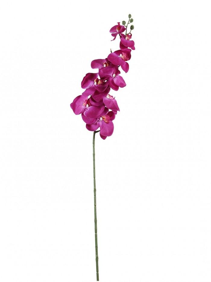 DECORATIVE ARTIFICIAL ORACHID FLOWER STEMS (90 CM TALL, PURPLE) MSF29
