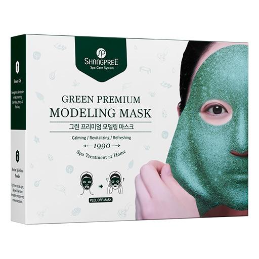 Shangpree Green Premium Modeling Mask- Pack Of 5 (271 g)