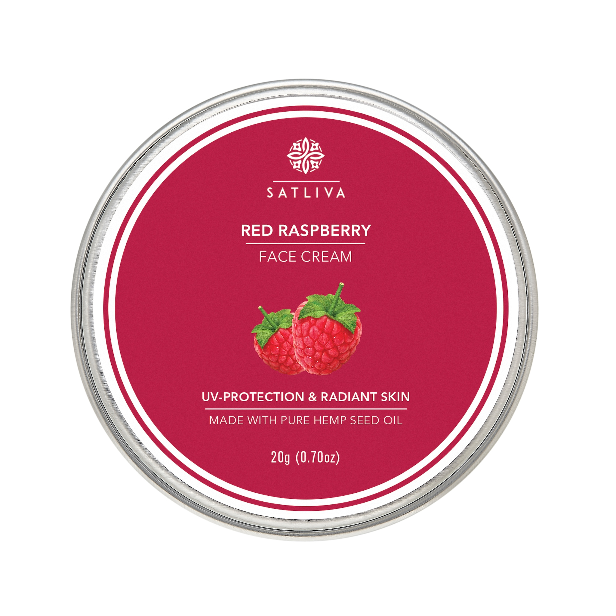 Satliva Red Raspberry Face Cream (20g)