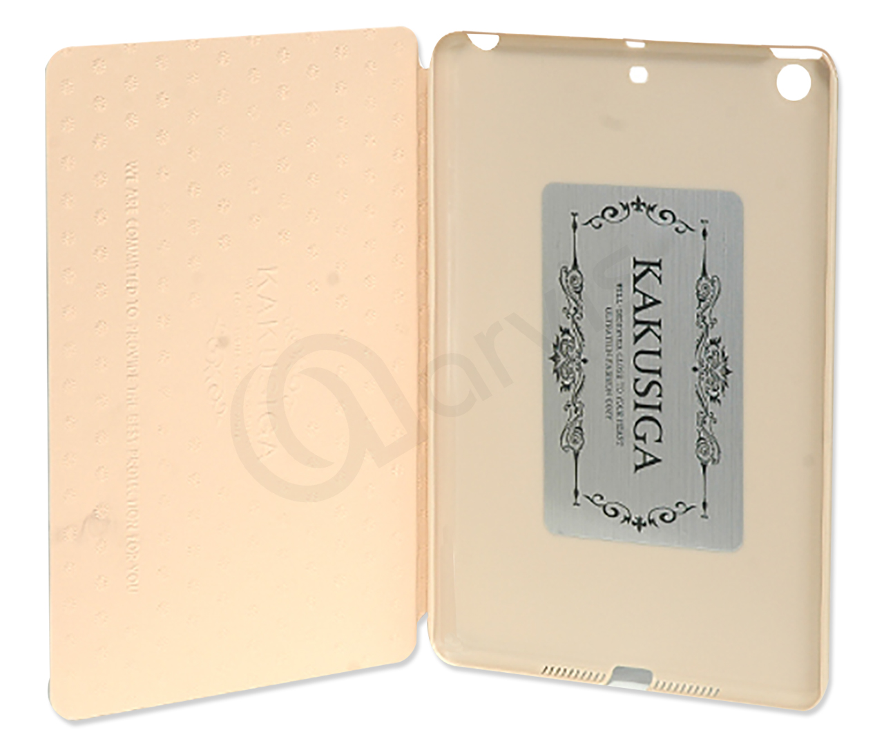 KAKU FLIP COVER FOR IPAD MINI 3 / A1599 / A1600 (GOLD)