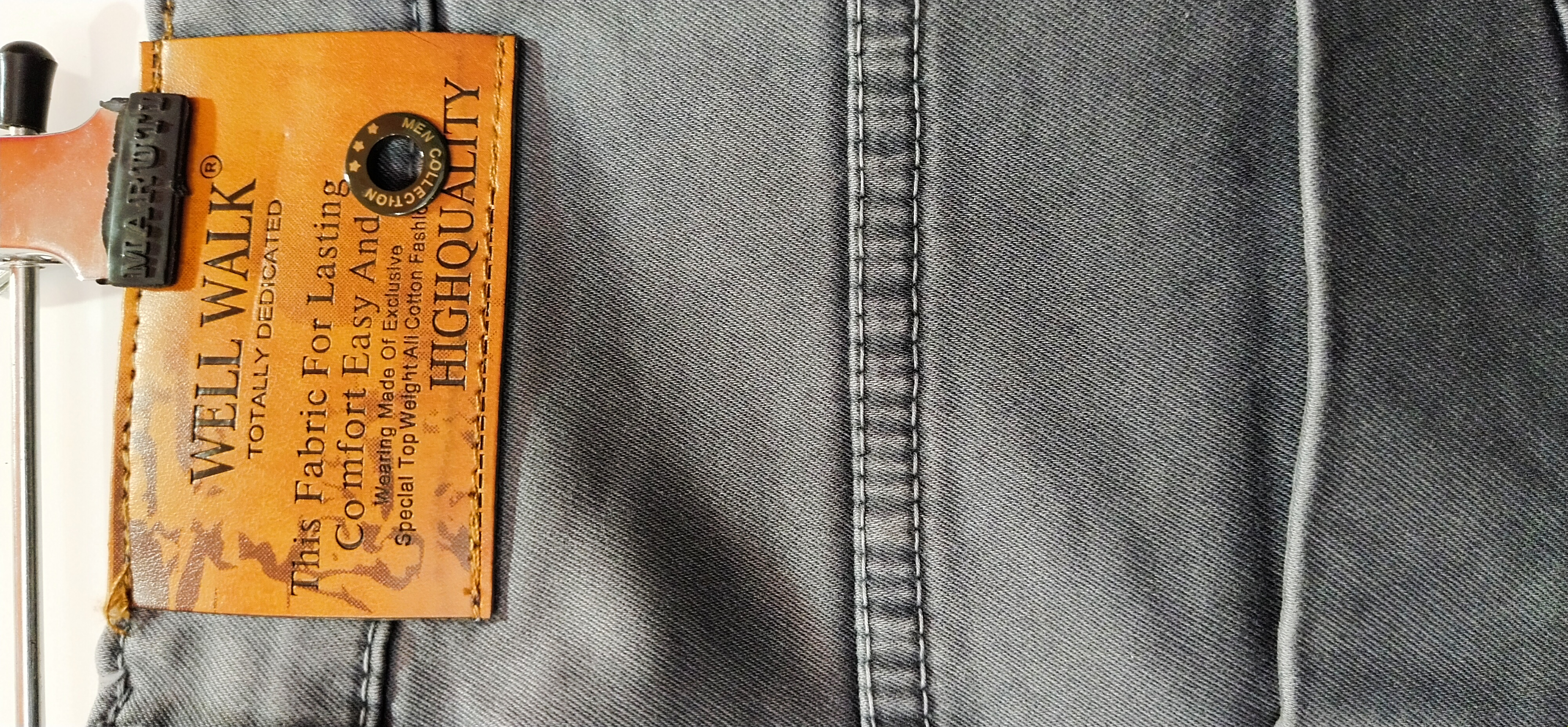 Jeans For Men - Well Walk (34, Grey)