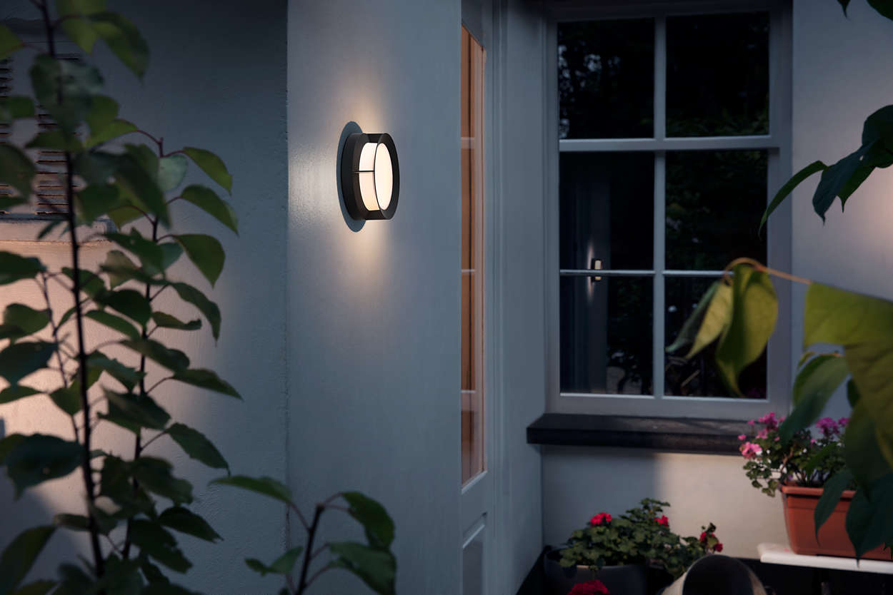 Philips 1739030P0 Actea Outdoor Wall Lamp LED 12w