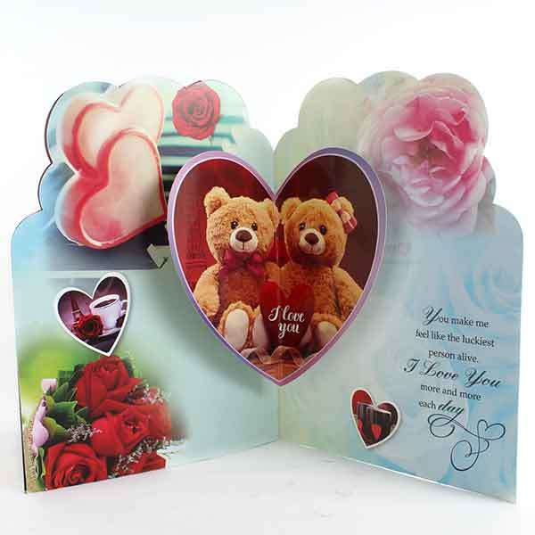 """""""I Love You"""" Card For LOVE [ ILV 01511 ]"""