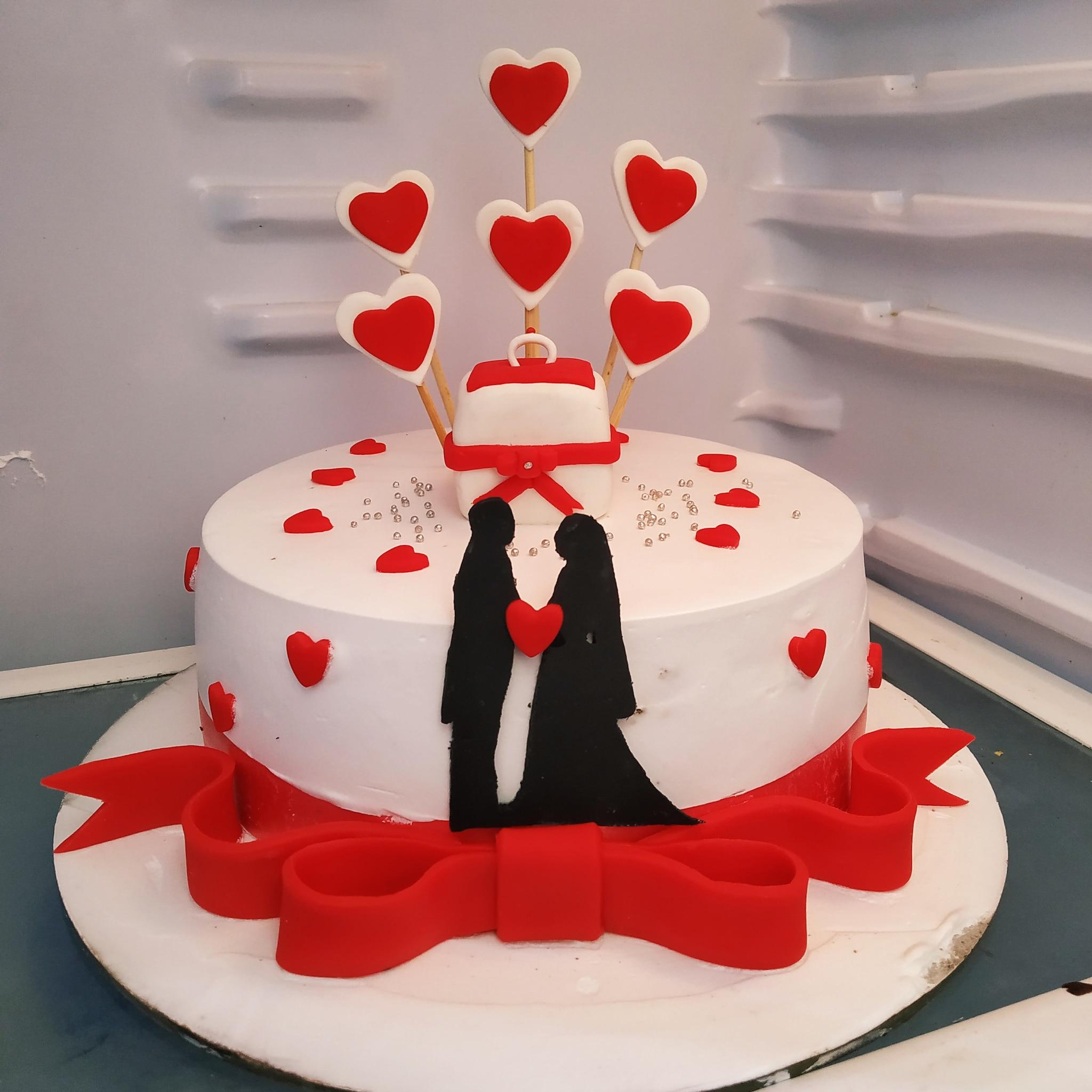 Anniversary Cake (1 Kg,Chocolate)
