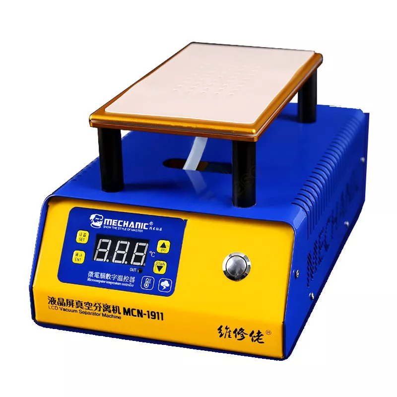 MECHANIC MCN-1911 Built-in Vacuum Pump Phone LCD Touch Screen Separator Machine 7 Inches Phone Repair Separation With Auto Sleep