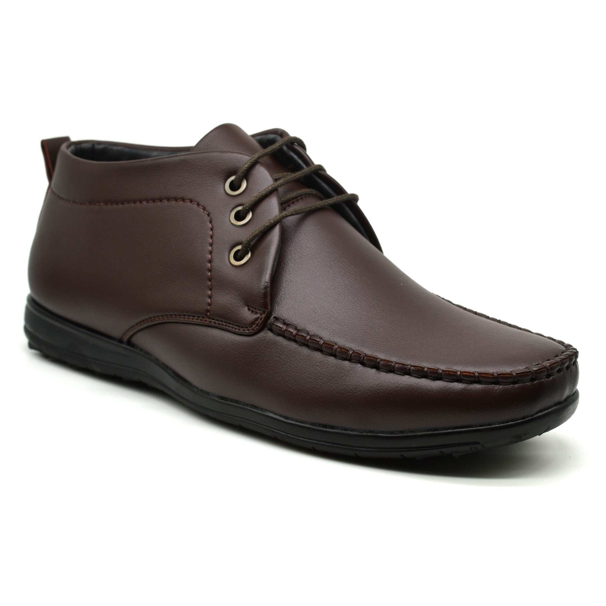IMCOLUS102.1_BROWN PARTYWEAR & OCCASION WEAR MENS SHOES IMCOLUS102.1_BROWN (BLACK,6TO9,4 PAIR)