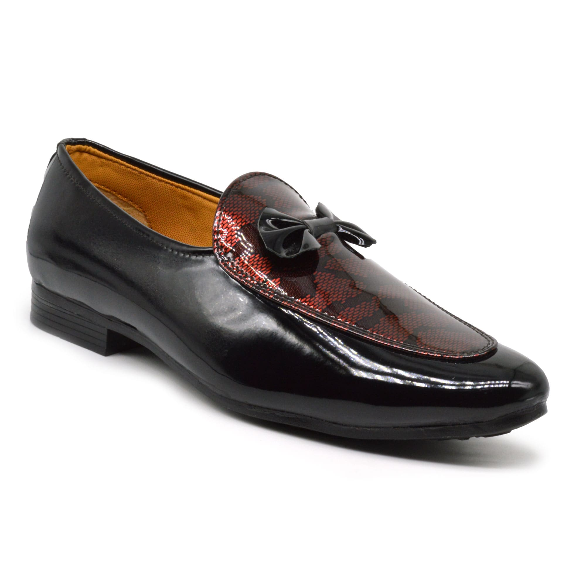 IMCOLUS66.50_BLACK PATENT OCCASIONAL WEAR & PARTYWEAR MENS LOAFER  IMCOLUS66.50_BLACK (BLACK,6TO10,8 PAIR)
