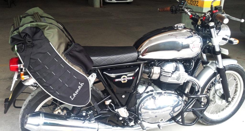 Trek N Ride Lamah Waterproof  Saddle / Tail Bag For Motorcycle